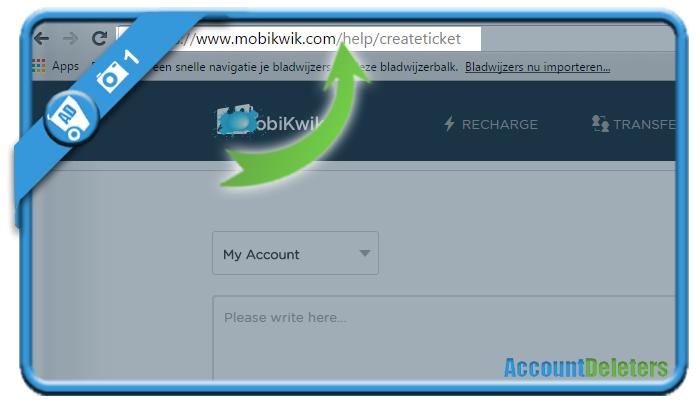 delete mobikwik account 1