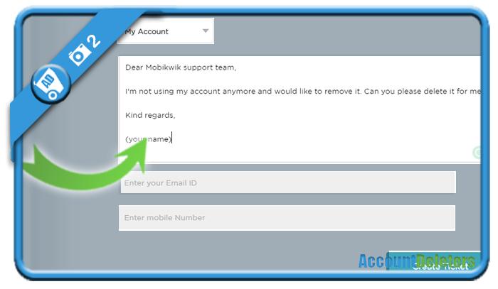 delete mobikwik account 2