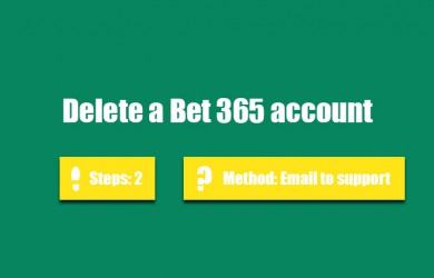 Delete Bet 365 account