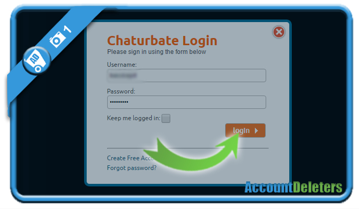 Chaturbate delete account