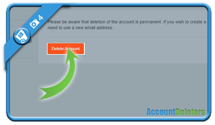 delete cam4 account 4