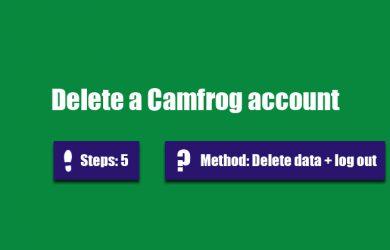 delete camfrog account 0