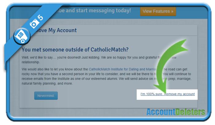 delete catholic match account 5