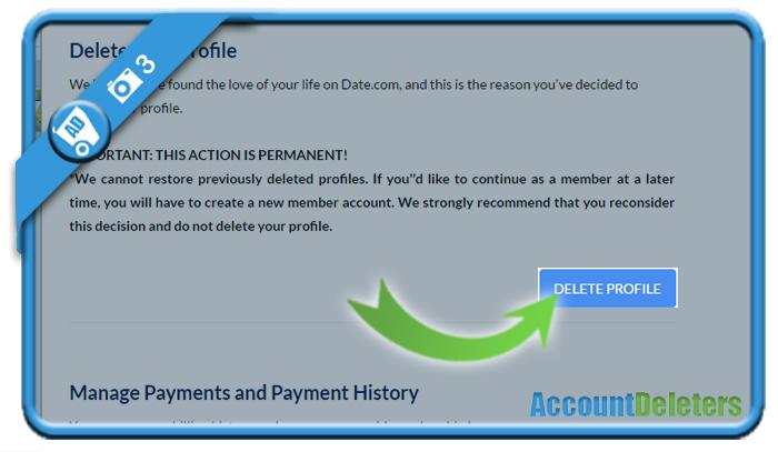 delete date com account 3