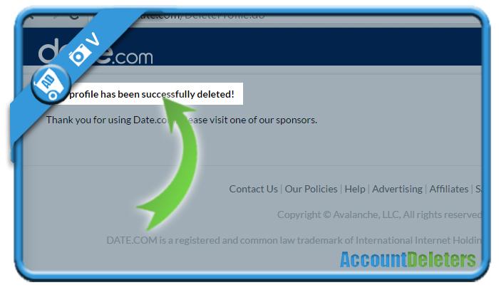 delete date com account 6