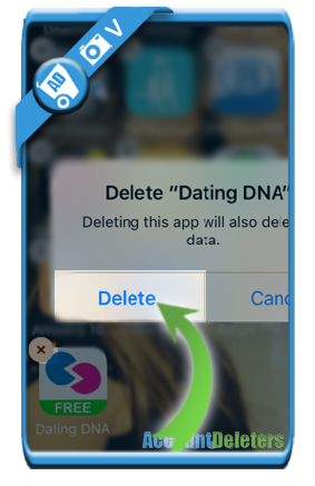 delete dating dna account 7