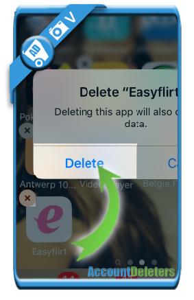 delete easyflirt account 9