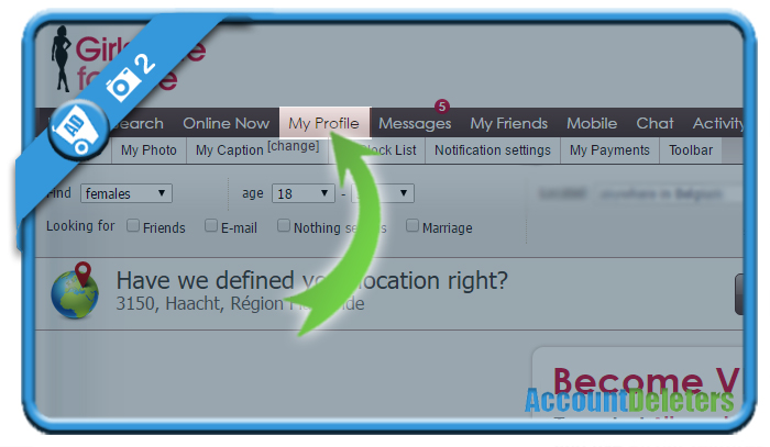 How to delete my account on christian dating for free