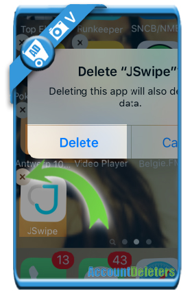 delete jswipe account 7