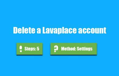 delete lavaplace account 0