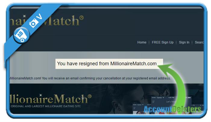 delete millionairematch account 6