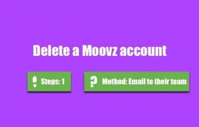delete moovz account 0