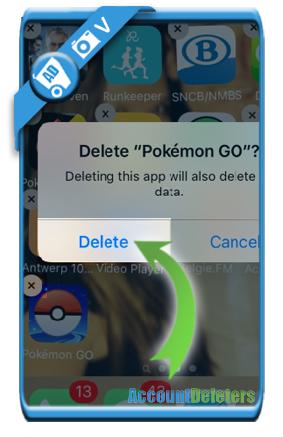delete pokemon go account 4