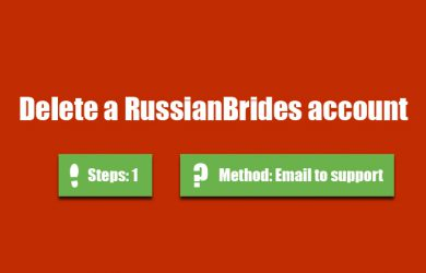 delete russianbrides account 0