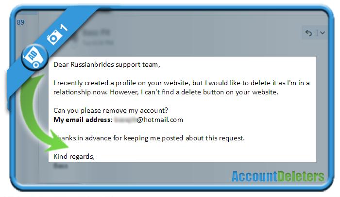 delete russianbrides account 1
