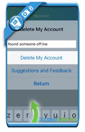 delete sayhi account 8