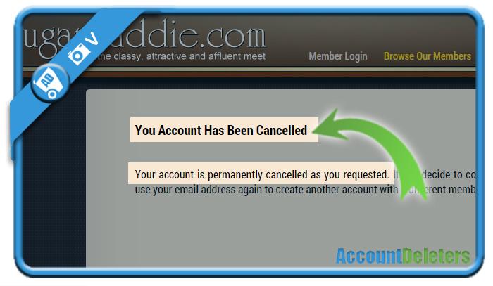 delete sugardaddie account 6