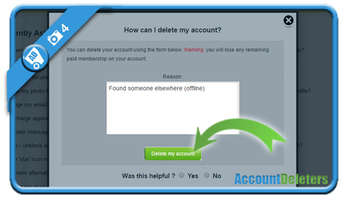 delete xmeeting account 4