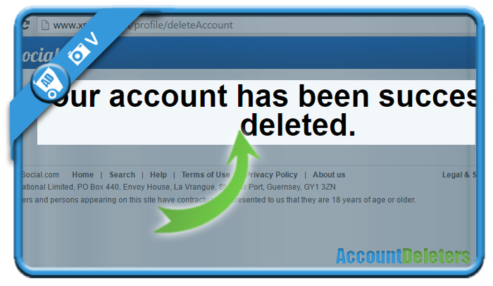delete xsocial account 5