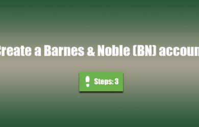 create bn account 0
