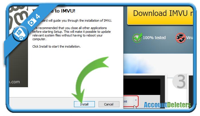 create imvu account 4