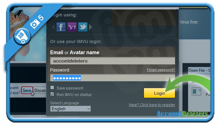 create imvu account 5
