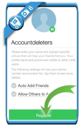 create line account 6