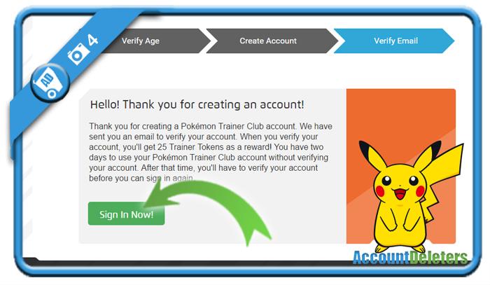 create pokemon trainer club account 4