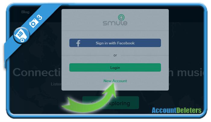 create smule account 3