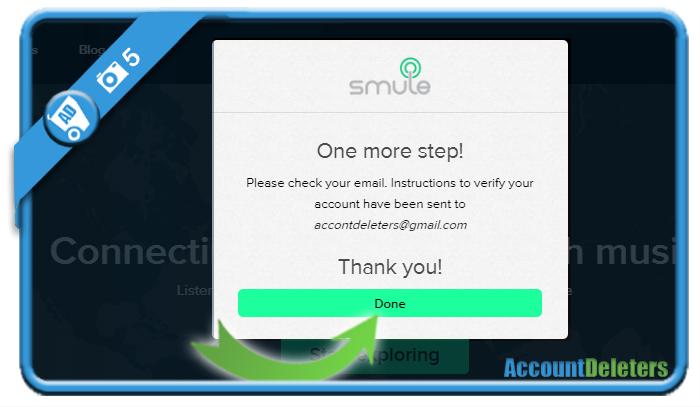 create smule account 5