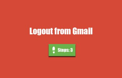 gmail logout 0
