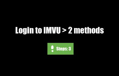 Imvu Login In
