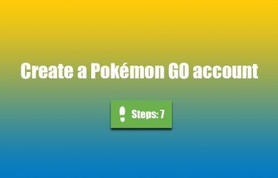 pokemon go create account