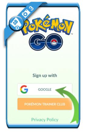 pokemon go create account 3