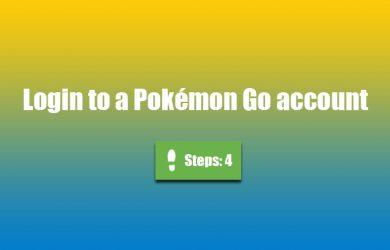 pokemon go login 0
