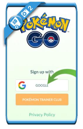 pokemon go login 2