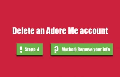 how to delete live me account