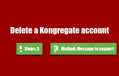 delete kongregate account 0