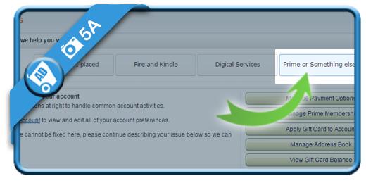 delete amazon account 5A