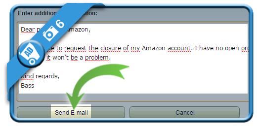 delete amazon account 6
