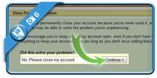 delete ebay account 6
