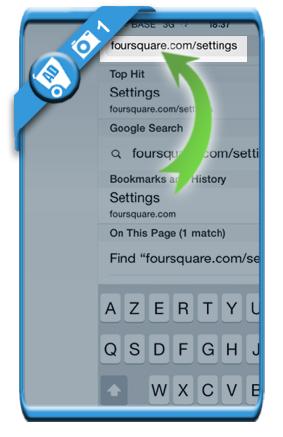 delete foursquare account 1