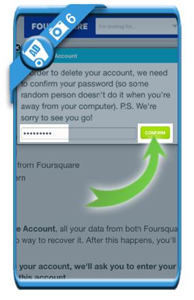 delete foursquare account 6