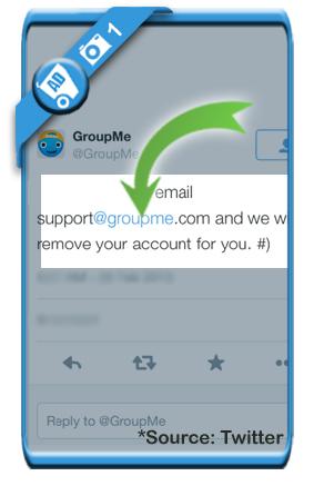 delete groupme account 1