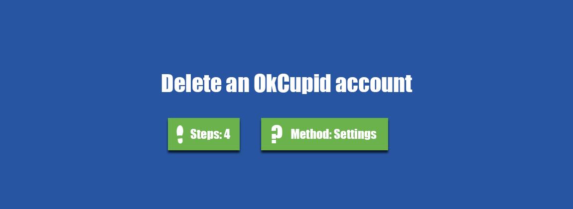 delete okcupid account - AccountDeleters