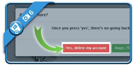 delete telegram account 6