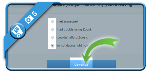 delete zoosk account 5