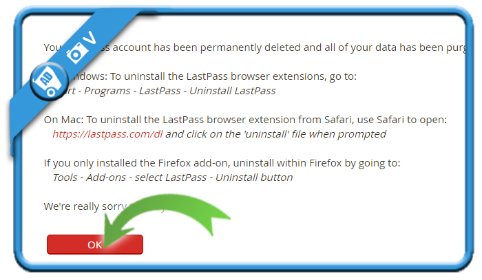 delete LastPass account 8