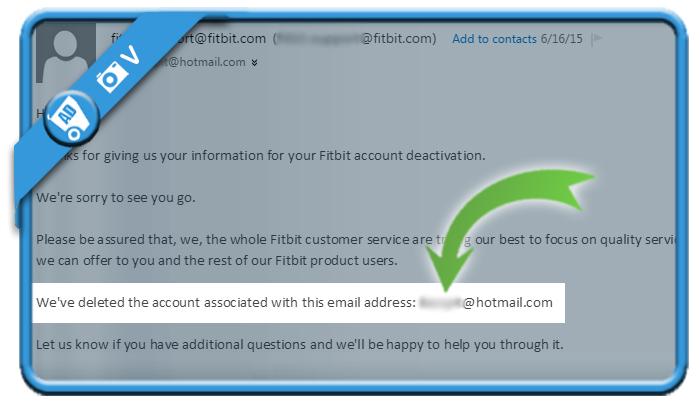 delete fitbit account 6