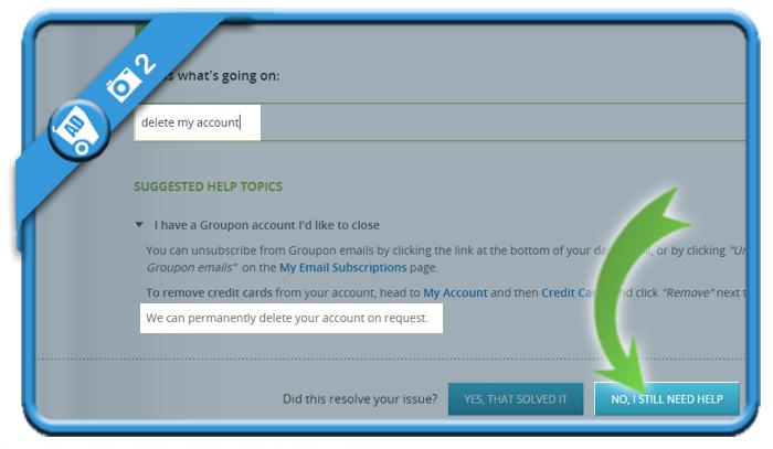 delete groupon account 2